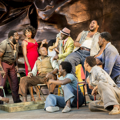 Tyrone Huntley in Porgy and Bess