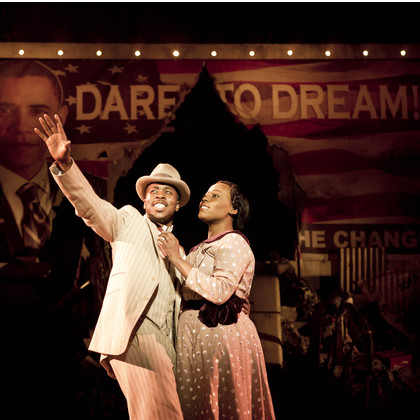 Katie Brayben in Ragtime the Musical