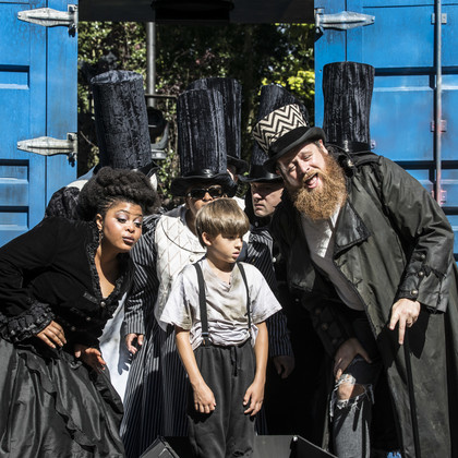 Tia-Lana Chinapyel in Oliver Twist created for everyone aged six and over