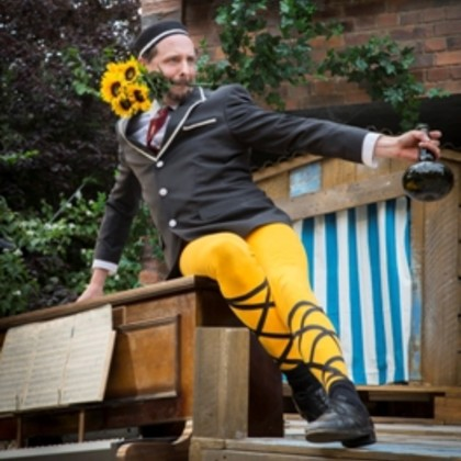 Ben Stones in Twelfth Night re-imagined for everyone aged six and over