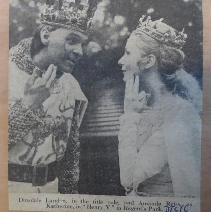 Andrew Downie in Henry V