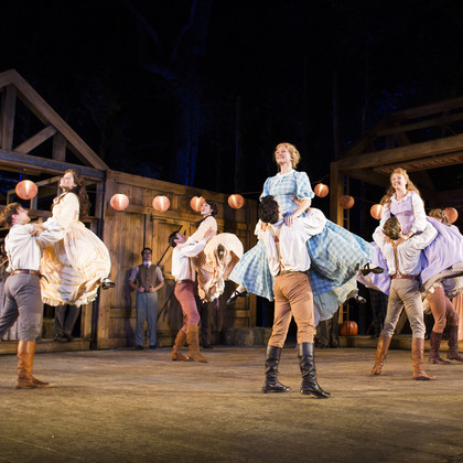 Ryan Pidgen in Seven Brides for Seven Brothers
