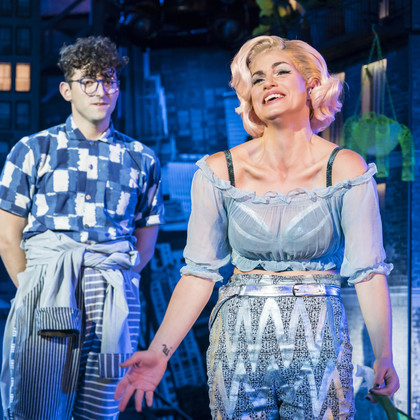 Vicky Vox in Little Shop of Horrors