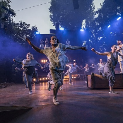 Charlotte Riby in Jesus Christ Superstar