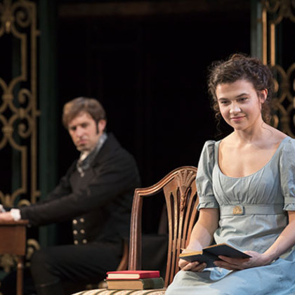 Jessica D'Arcy in Pride and Prejudice (& Tour)