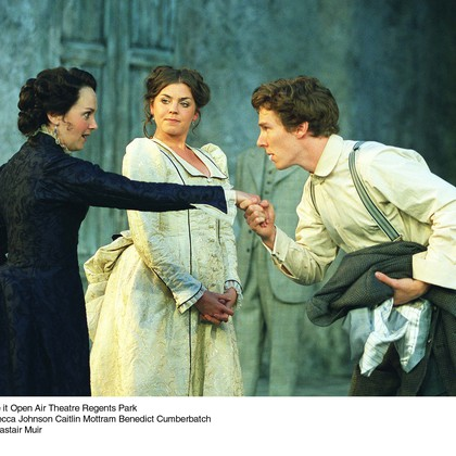 Benedict Cumberbatch in As You Like It